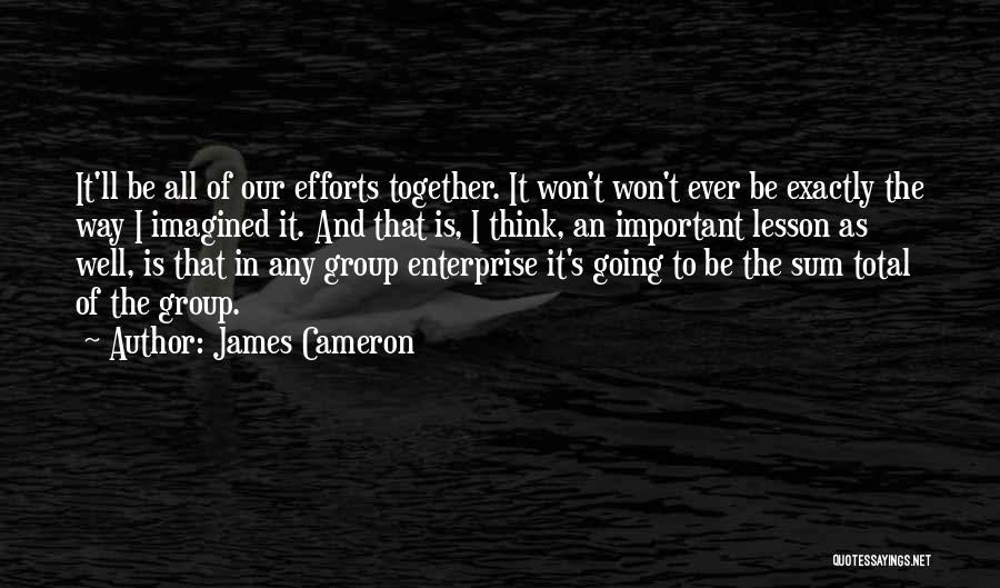James Cameron Quotes 385550