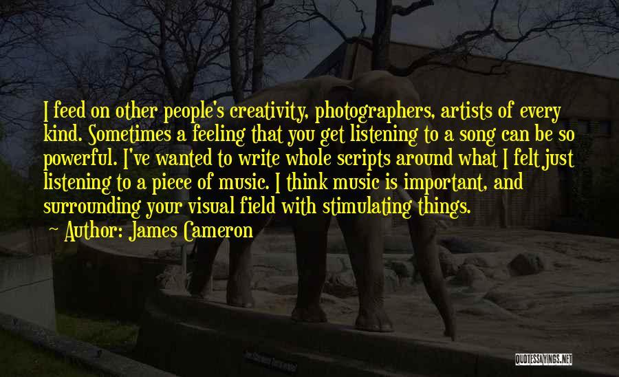 James Cameron Quotes 461255