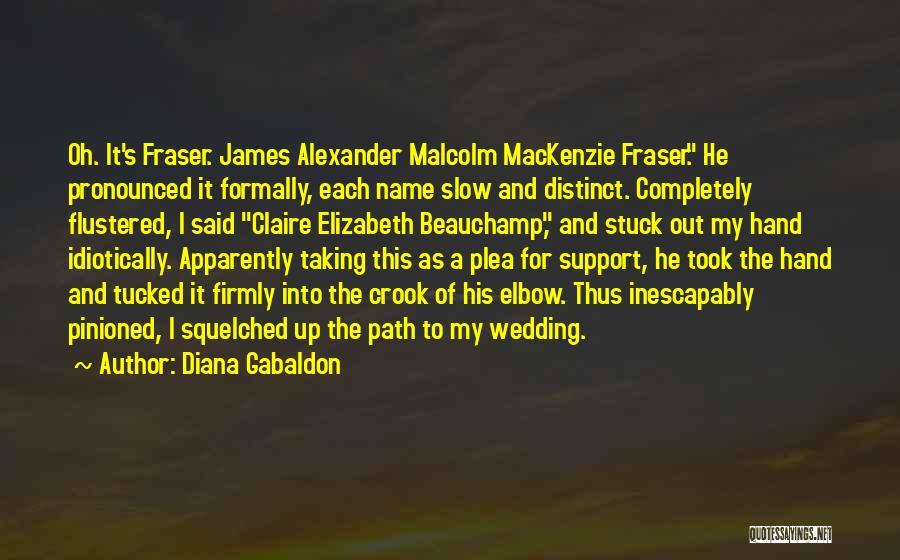 James Crook Quotes By Diana Gabaldon