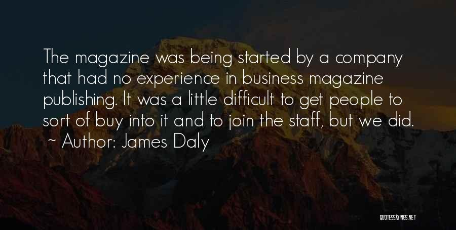 James Daly Quotes 1146888