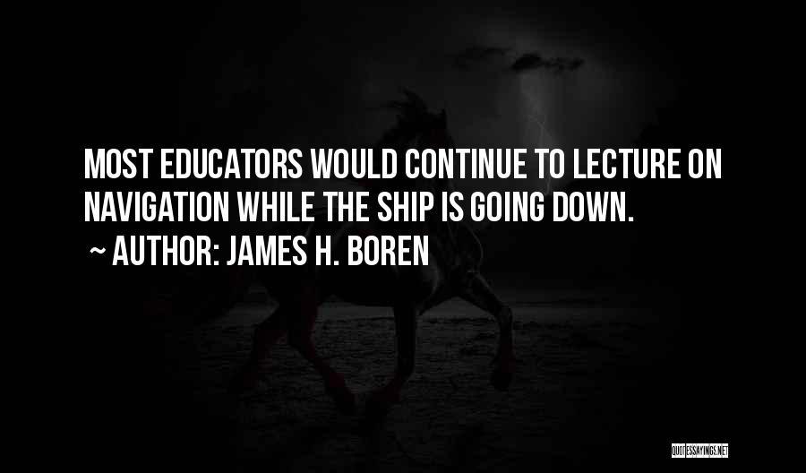 James H. Boren Quotes 1380472