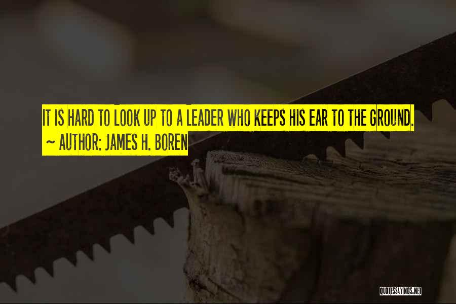 James H. Boren Quotes 271339
