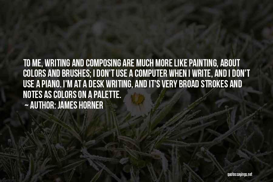 James Horner Quotes 1122917