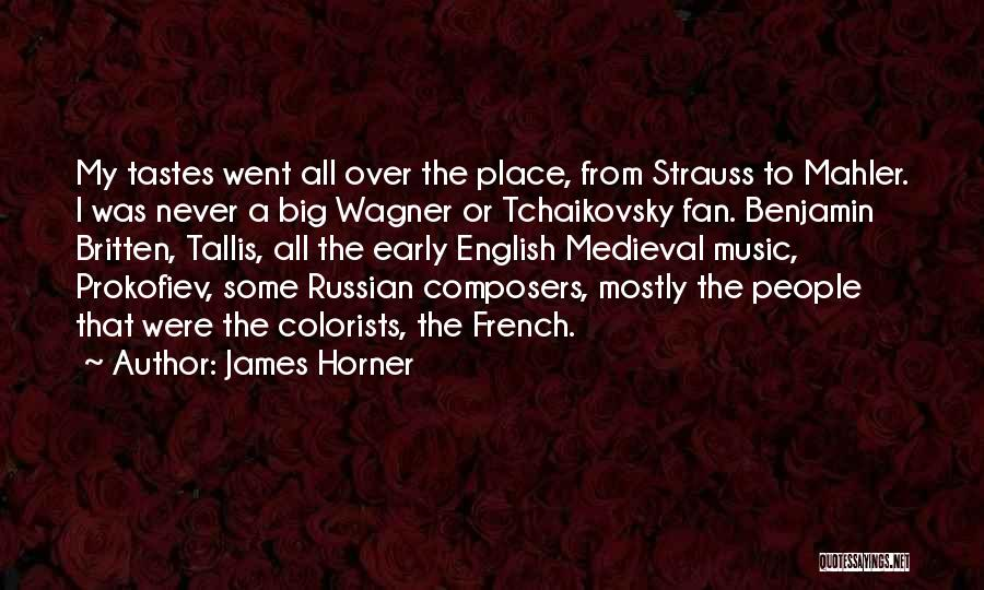 James Horner Quotes 1769453