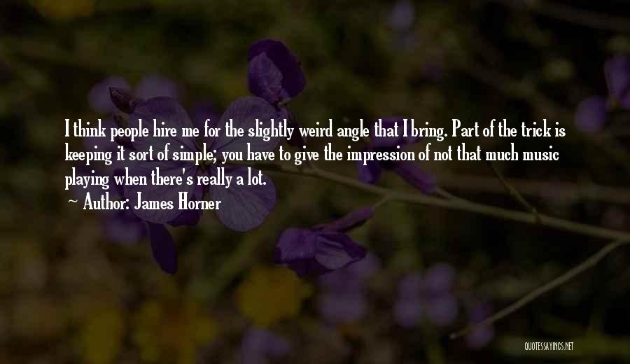 James Horner Quotes 633917