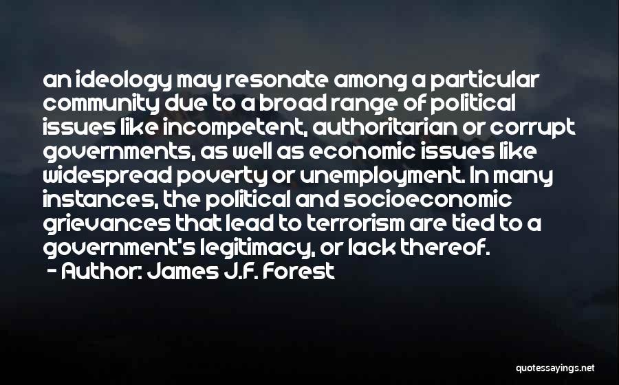 James J.F. Forest Quotes 1385134