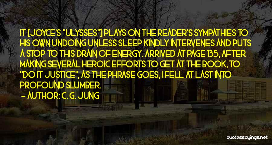 James Joyce Ulysses Quotes By C. G. Jung