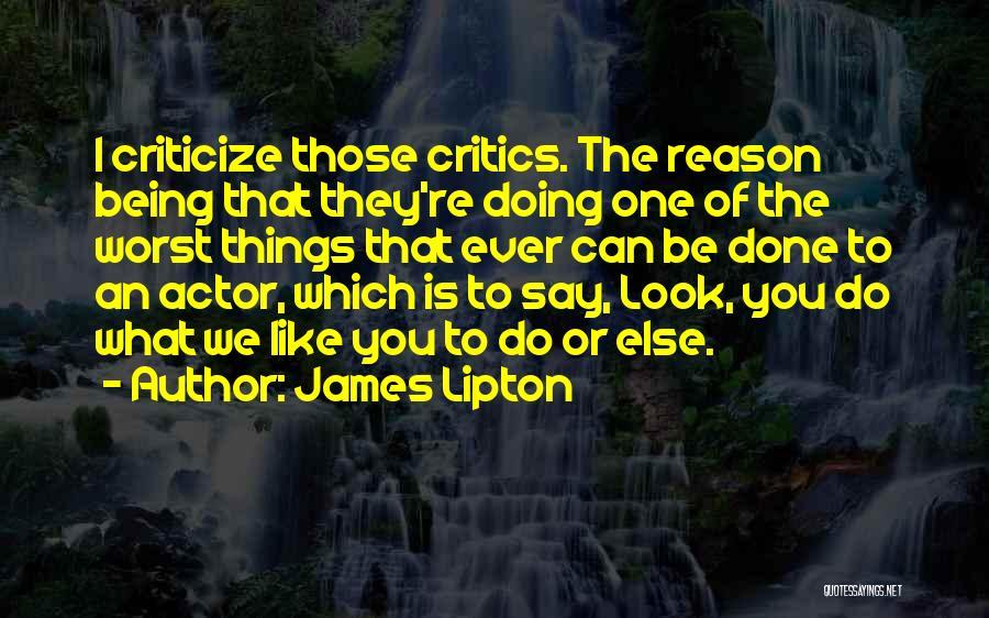 James Lipton Quotes 311367
