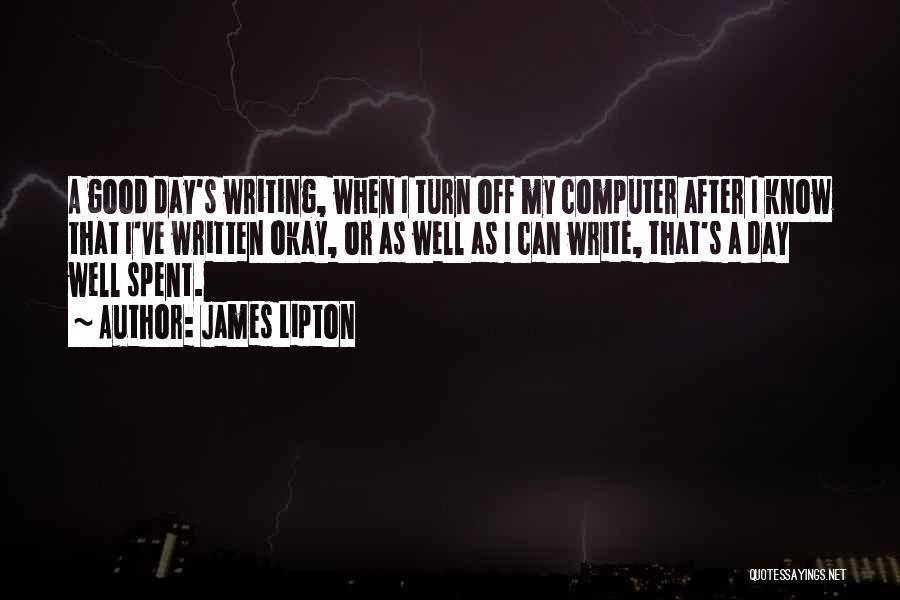 James Lipton Quotes 672818