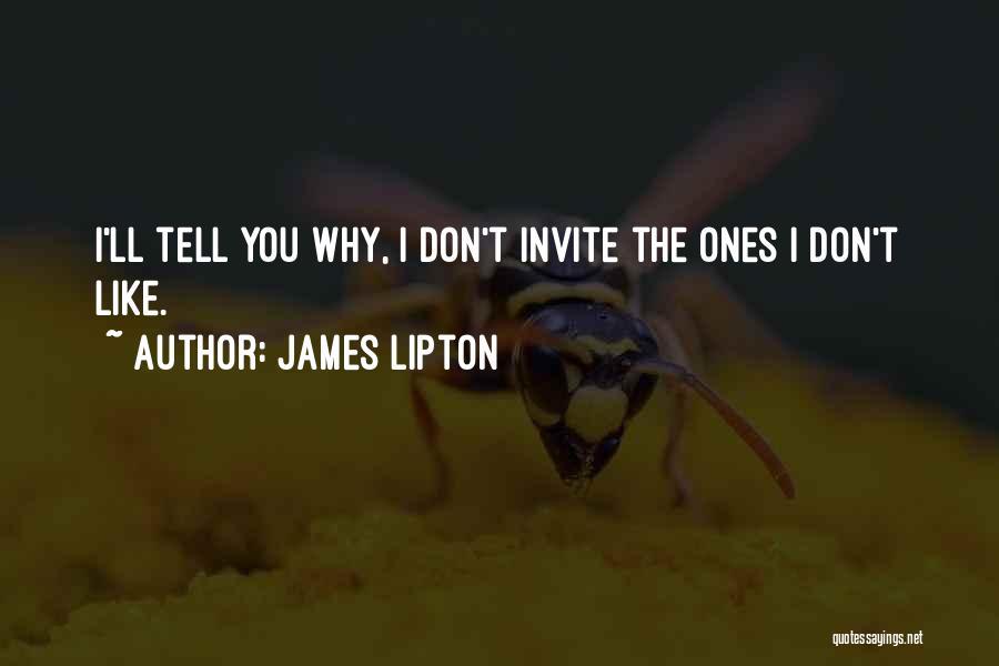 James Lipton Quotes 750860