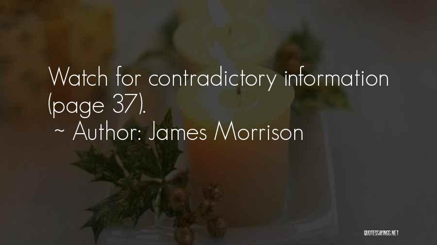 James Morrison Quotes 603360