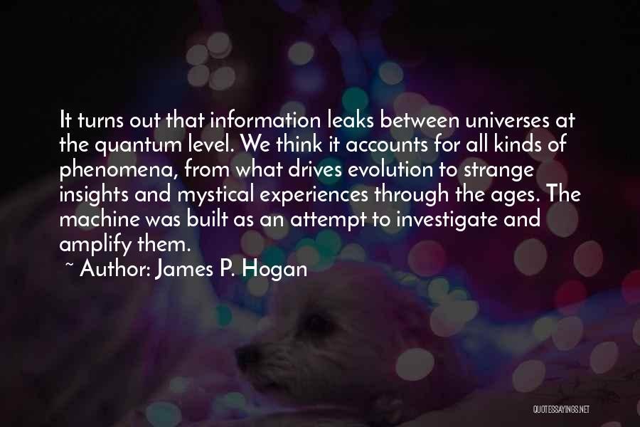 James P. Hogan Quotes 184400