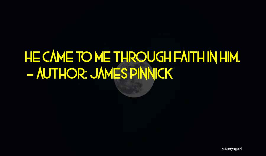 James Pinnick Quotes 1284855