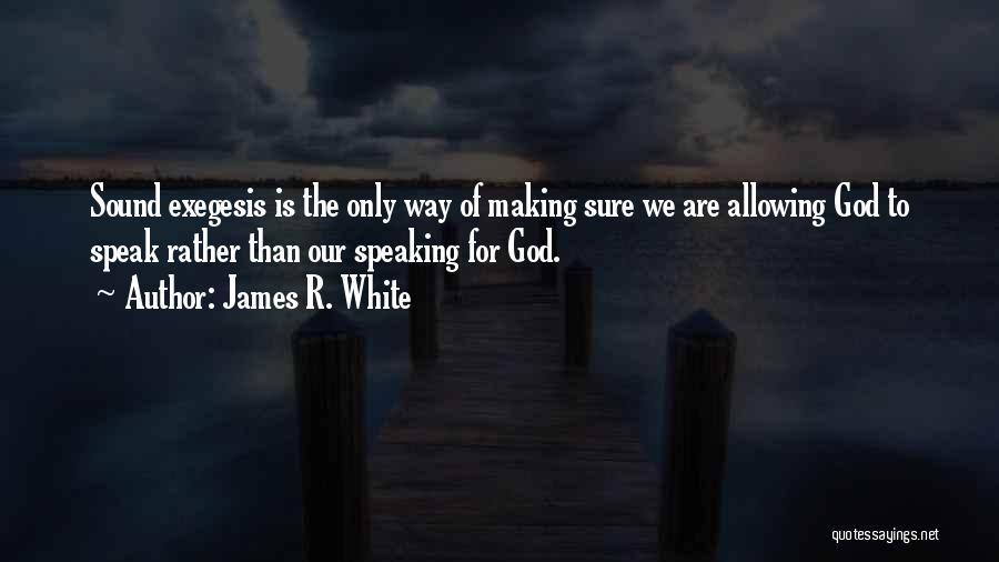 James R. White Quotes 1306703