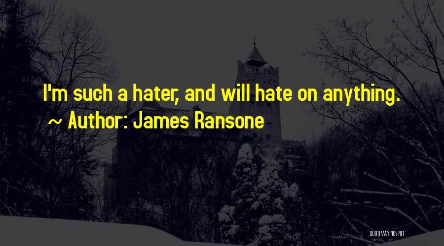 James Ransone Quotes 1277619