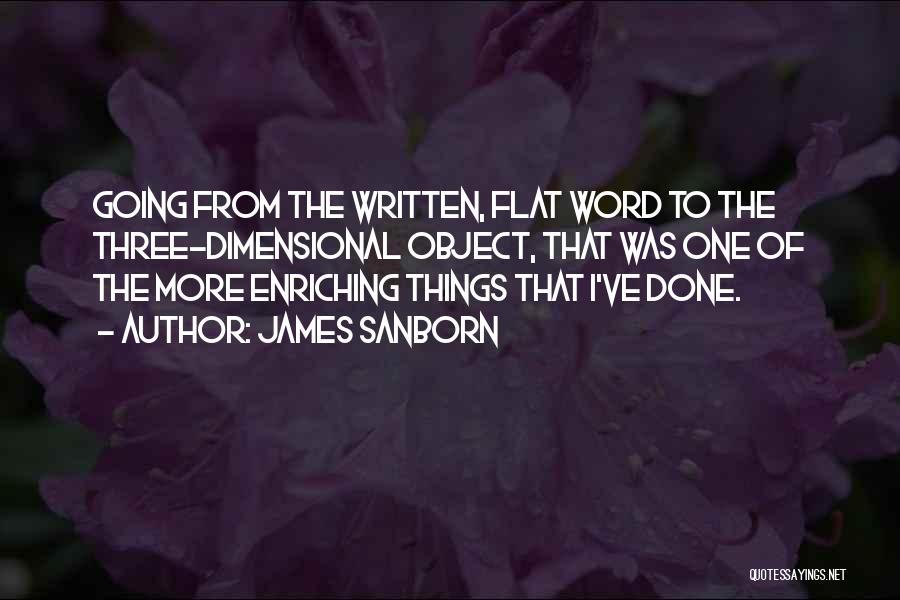 James Sanborn Quotes 338215