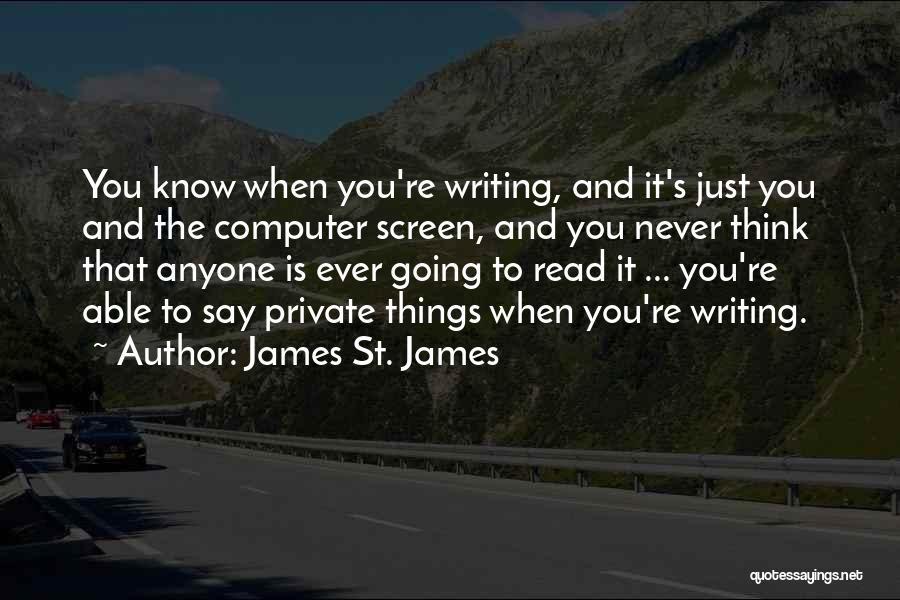 James St. James Quotes 1686532