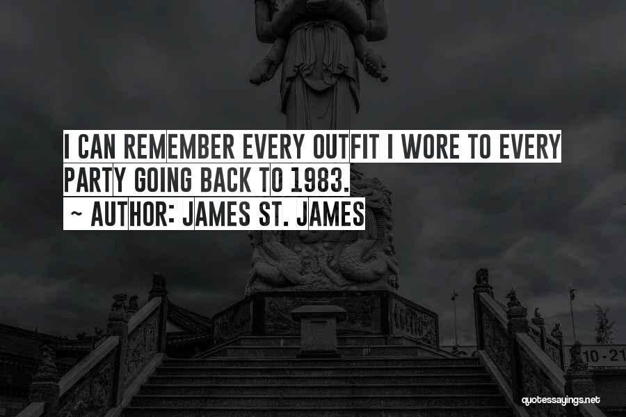 James St. James Quotes 1793928