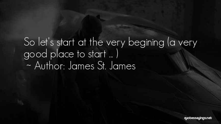 James St. James Quotes 2073086