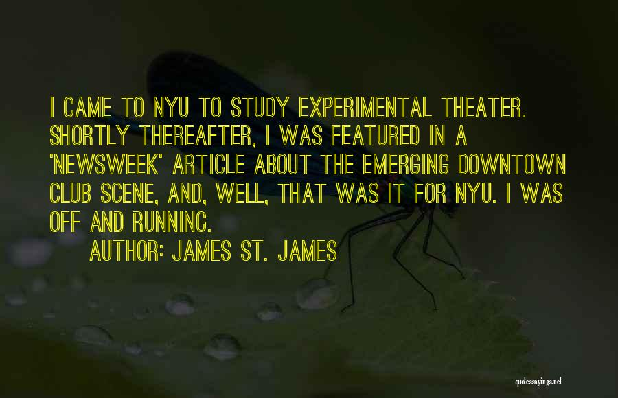 James St. James Quotes 428293