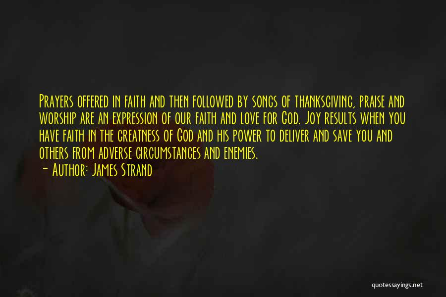 James Strand Quotes 734016