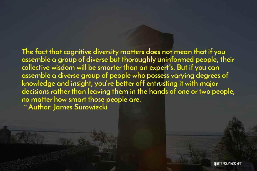 James Surowiecki Quotes 1669754