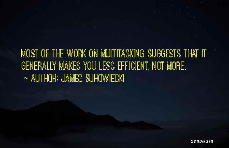 James Surowiecki Quotes 1750174