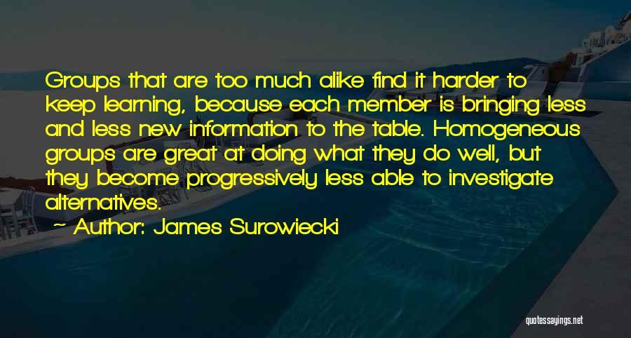 James Surowiecki Quotes 2208064