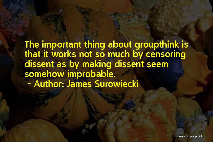 James Surowiecki Quotes 299740