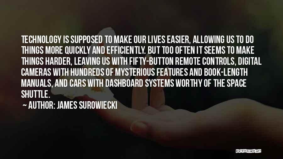 James Surowiecki Quotes 734523