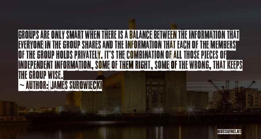 James Surowiecki Quotes 938427