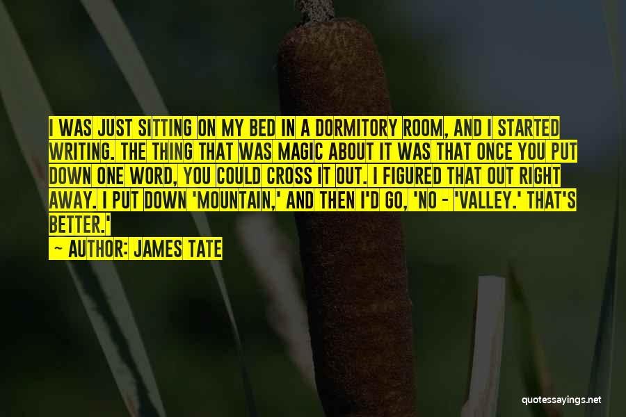 James Tate Quotes 1915813