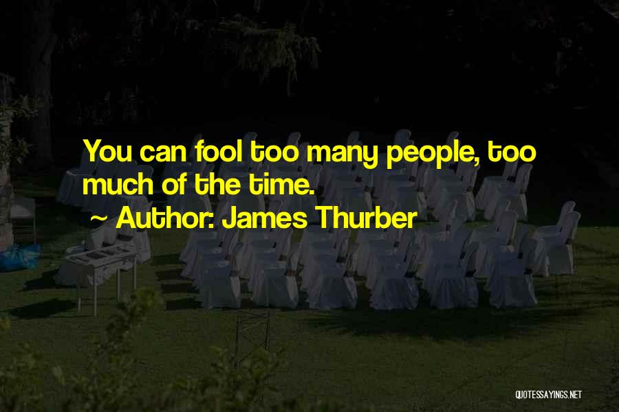 James Thurber Quotes 381058