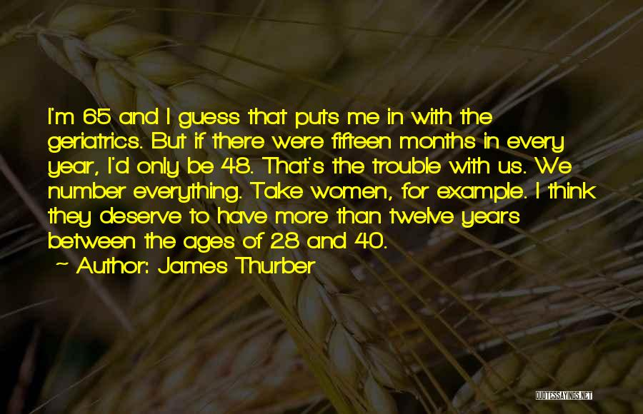 James Thurber Quotes 392146