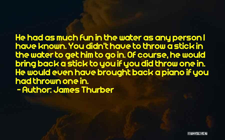 James Thurber Quotes 798146