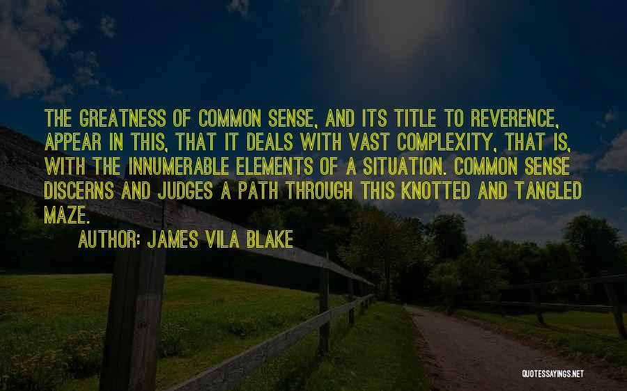 James Vila Blake Quotes 1181422