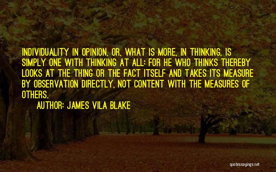 James Vila Blake Quotes 1439356
