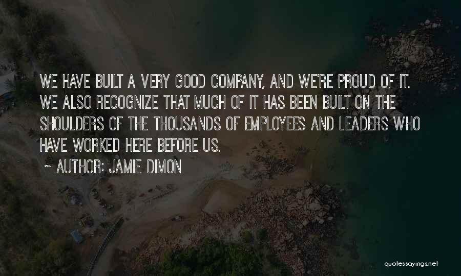 Jamie Dimon Quotes 1782701
