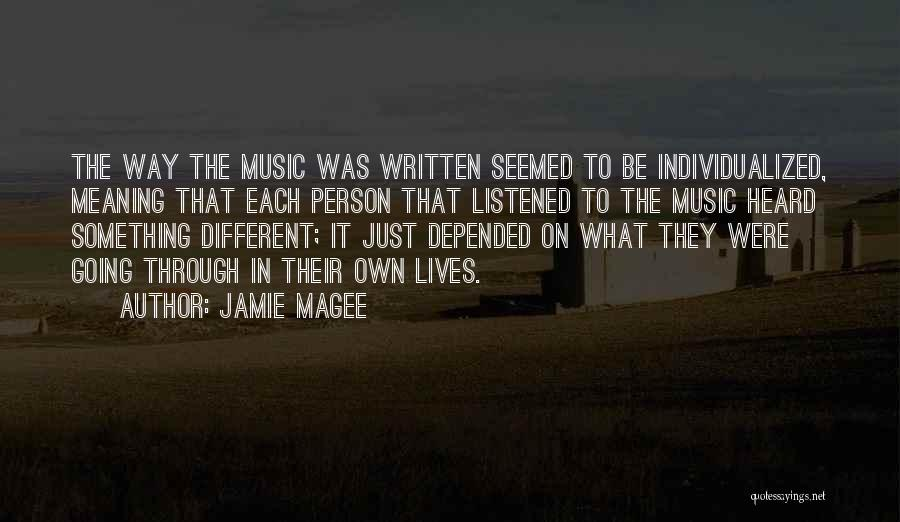 Jamie Magee Quotes 231816