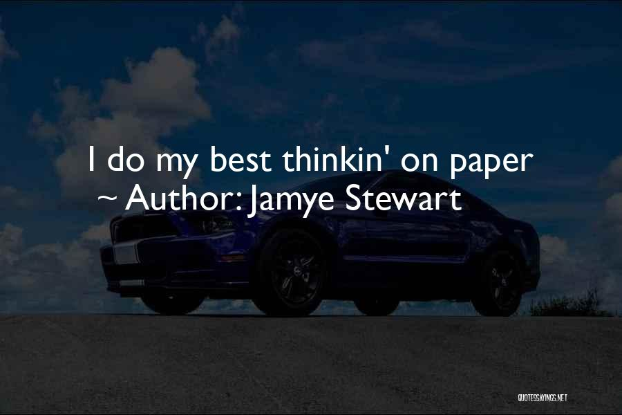 Jamye Stewart Quotes 403860