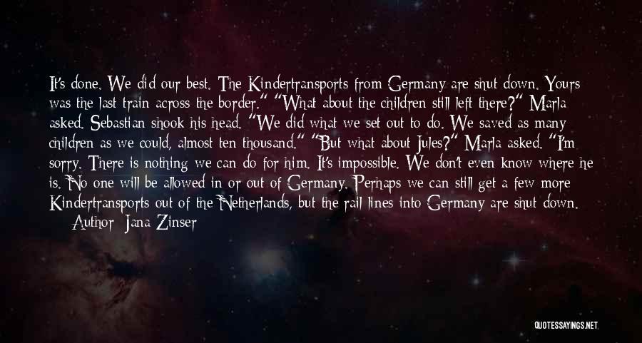 Jana Zinser Quotes 199642