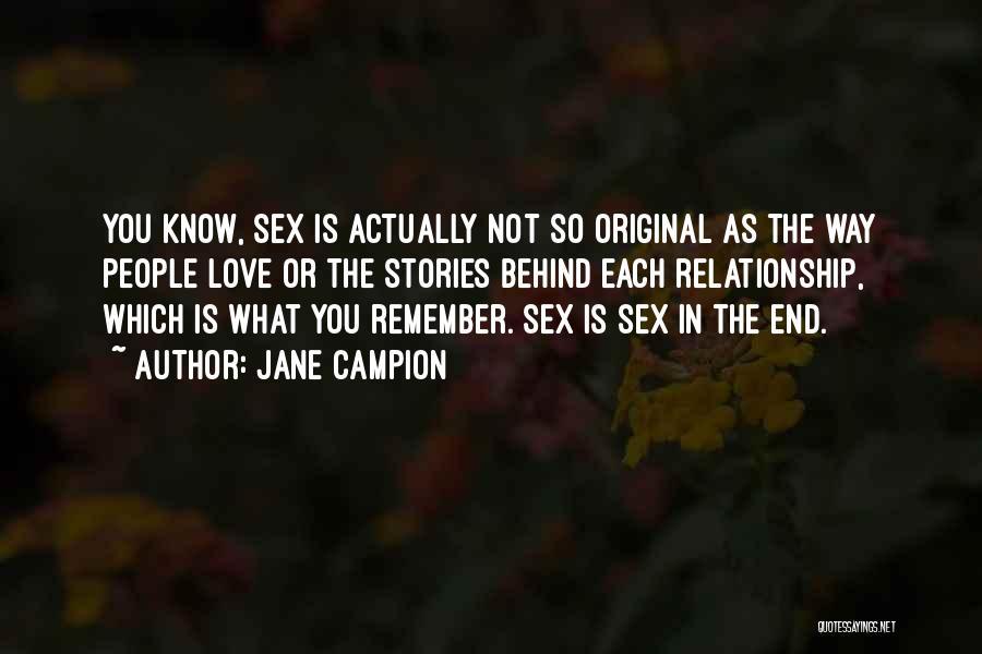Jane Campion Quotes 1204917