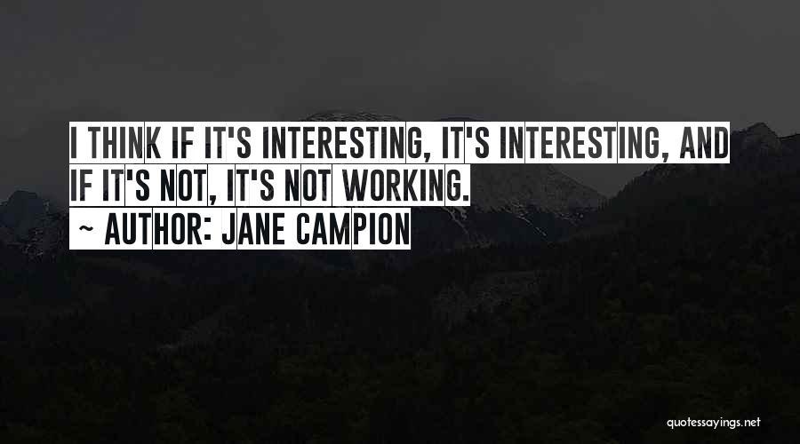 Jane Campion Quotes 1980987