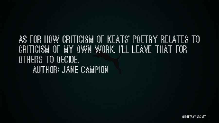 Jane Campion Quotes 544647