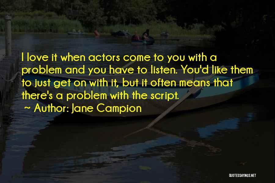 Jane Campion Quotes 717602