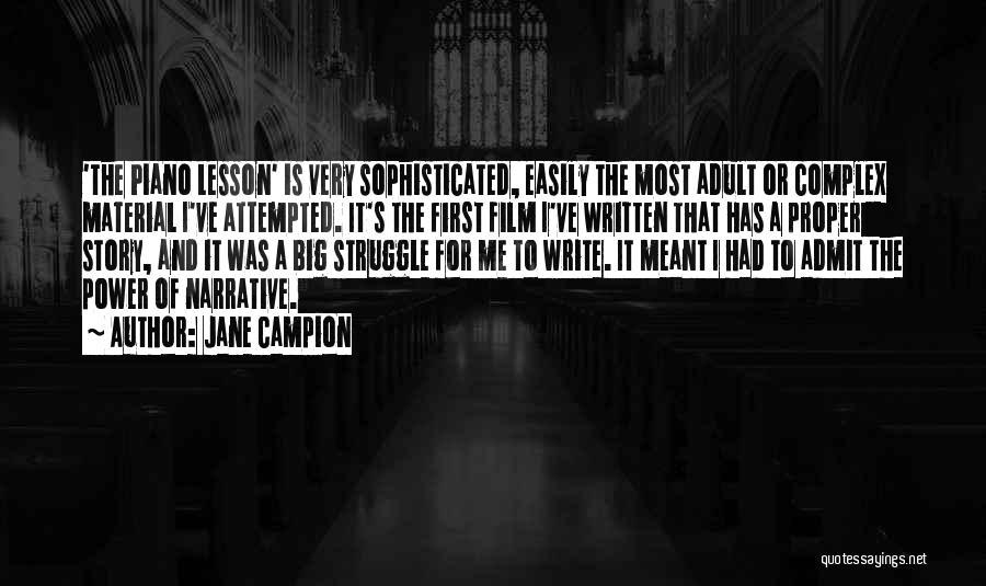 Jane Campion Quotes 97255