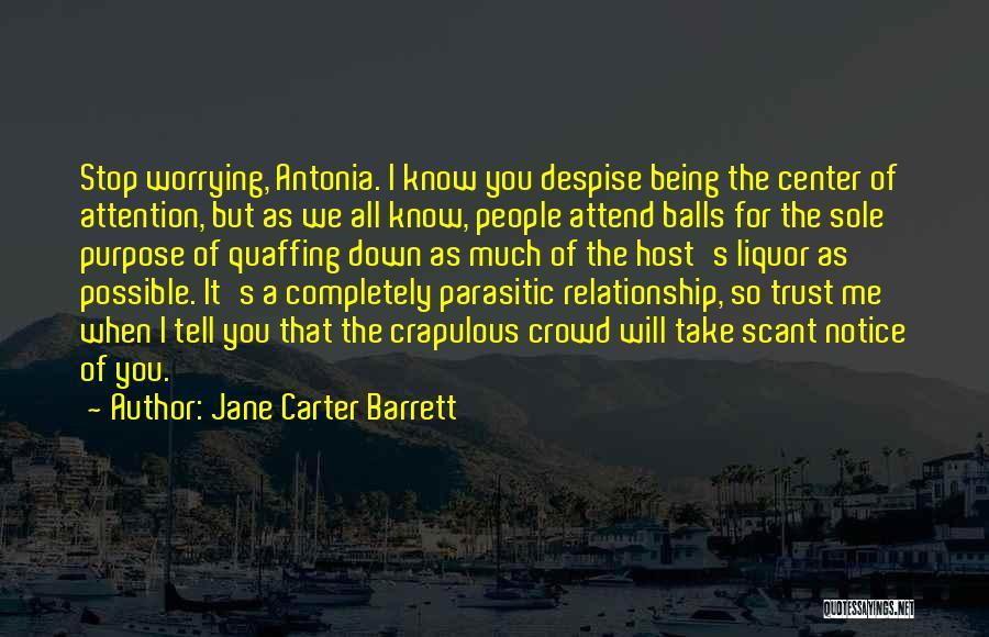 Jane Carter Barrett Quotes 435968
