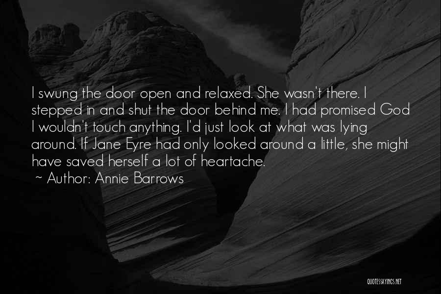 Jane Eyre Quotes By Annie Barrows