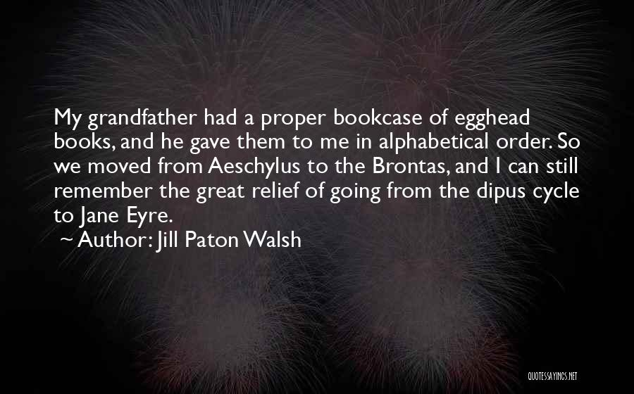 Jane Eyre Quotes By Jill Paton Walsh