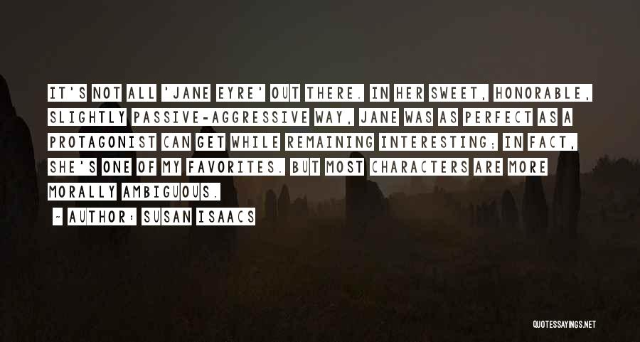 Jane Eyre Quotes By Susan Isaacs